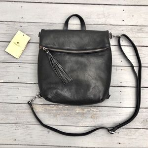 NWT Patricia Nash Luzille leather convertible bag